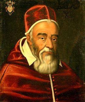 """папа Григорий XIII - создатель """"григорианского"""" календаря, принятого в 1582 г."""