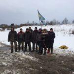 Участники зимней экспедиции 2017 г. в Гнездово