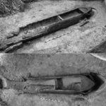 Лодка, найденная у села Щучье in situ