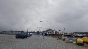 Вид на «Лётную гавань и Батарейную крепость»