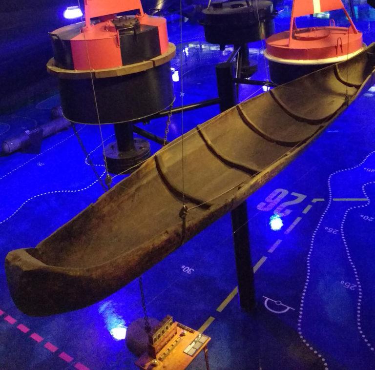 Долблёная лодка-осинка