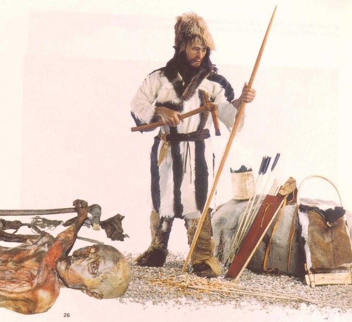 Отци — Ледяной человек (J. Guilain. Cain, Abel, Otzi. Heritage neolitique. Gallimard. 2011)