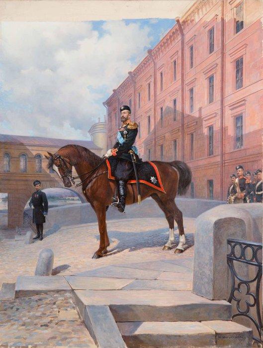 Портрет великого князя Константина Константиновича (К.Р.) (1858-1915). Мазуровский В.В. 1900-е гг.