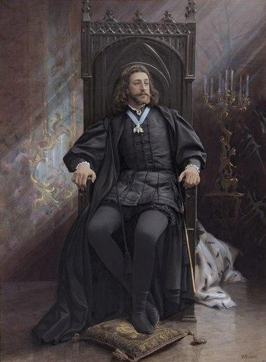 Портрет великого князя Константина Константиновича. Фотограф А.А. Пазетти. Санкт-Петербург. 1899 г.