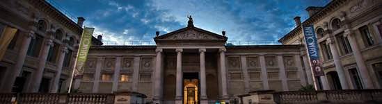 Музей Ашмолеан — фасад