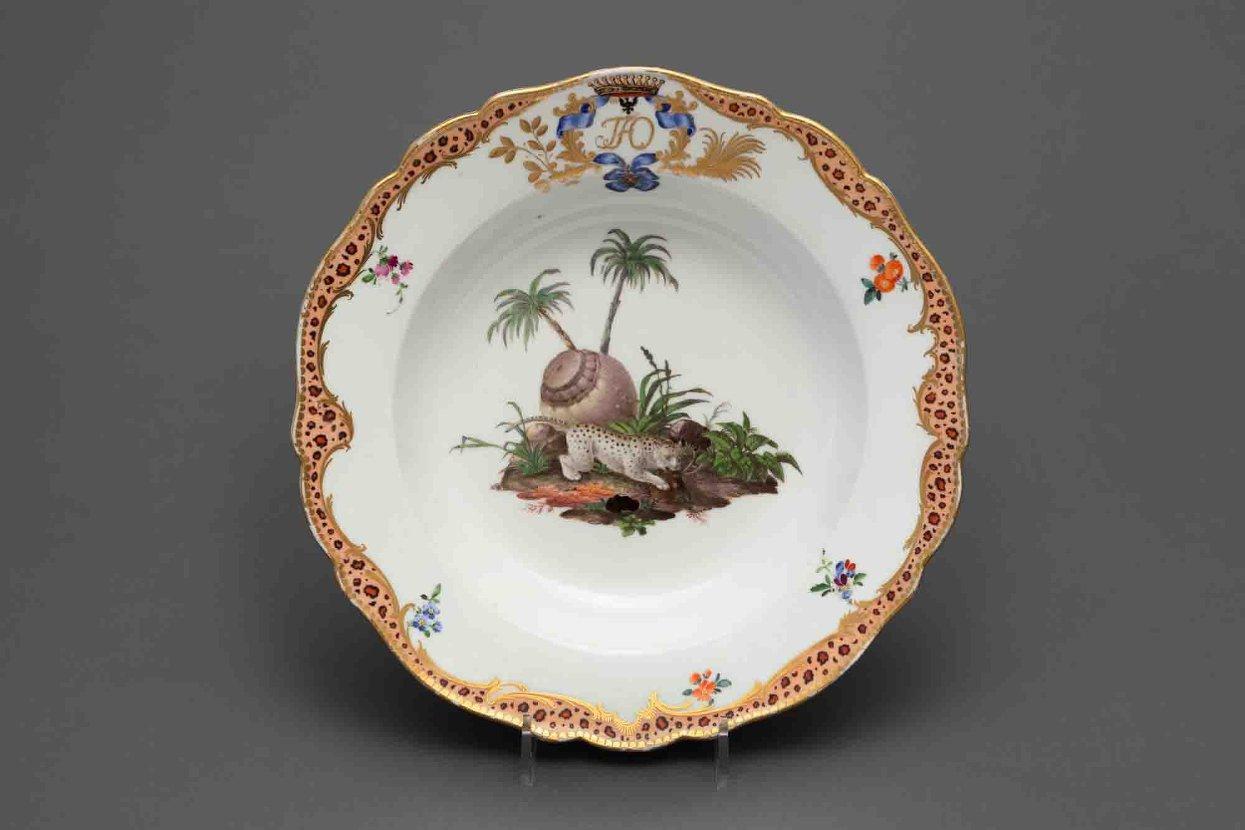 Тарелка глубокая. Мейсенская фарфоровая мануфактура. 1769-1774 годы