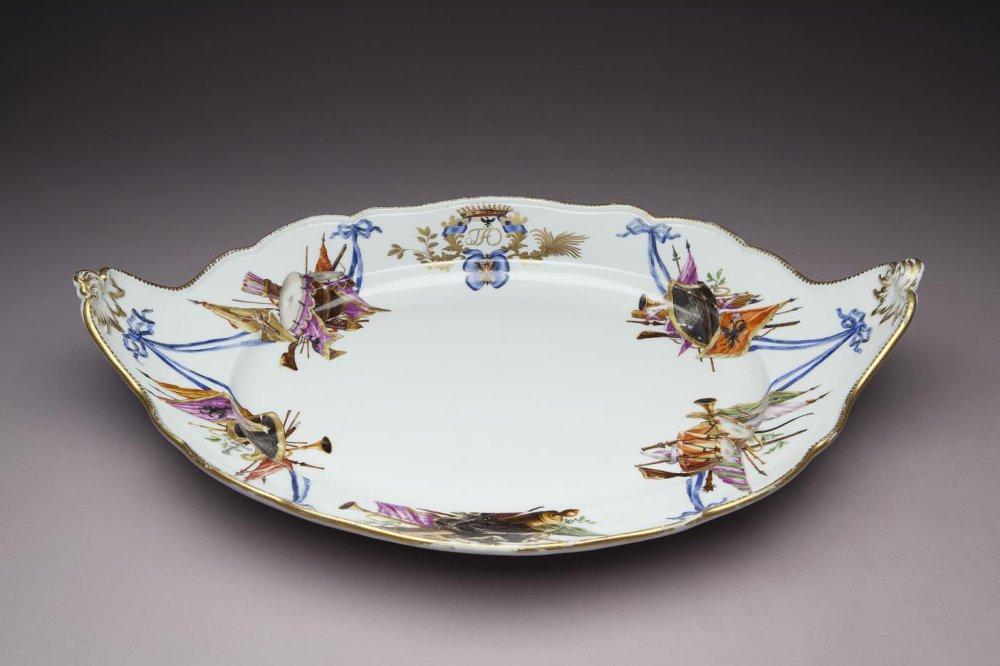 Поддон. Мейсенская фарфоровая мануфактура. 1769-1774 годы