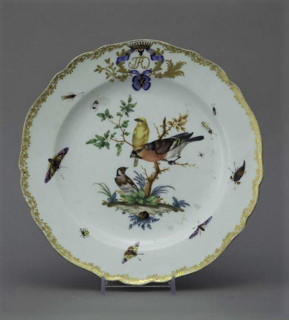 Тарелка мелкая. Мейсенская фарфоровая мануфактура. 1769-1774 годы