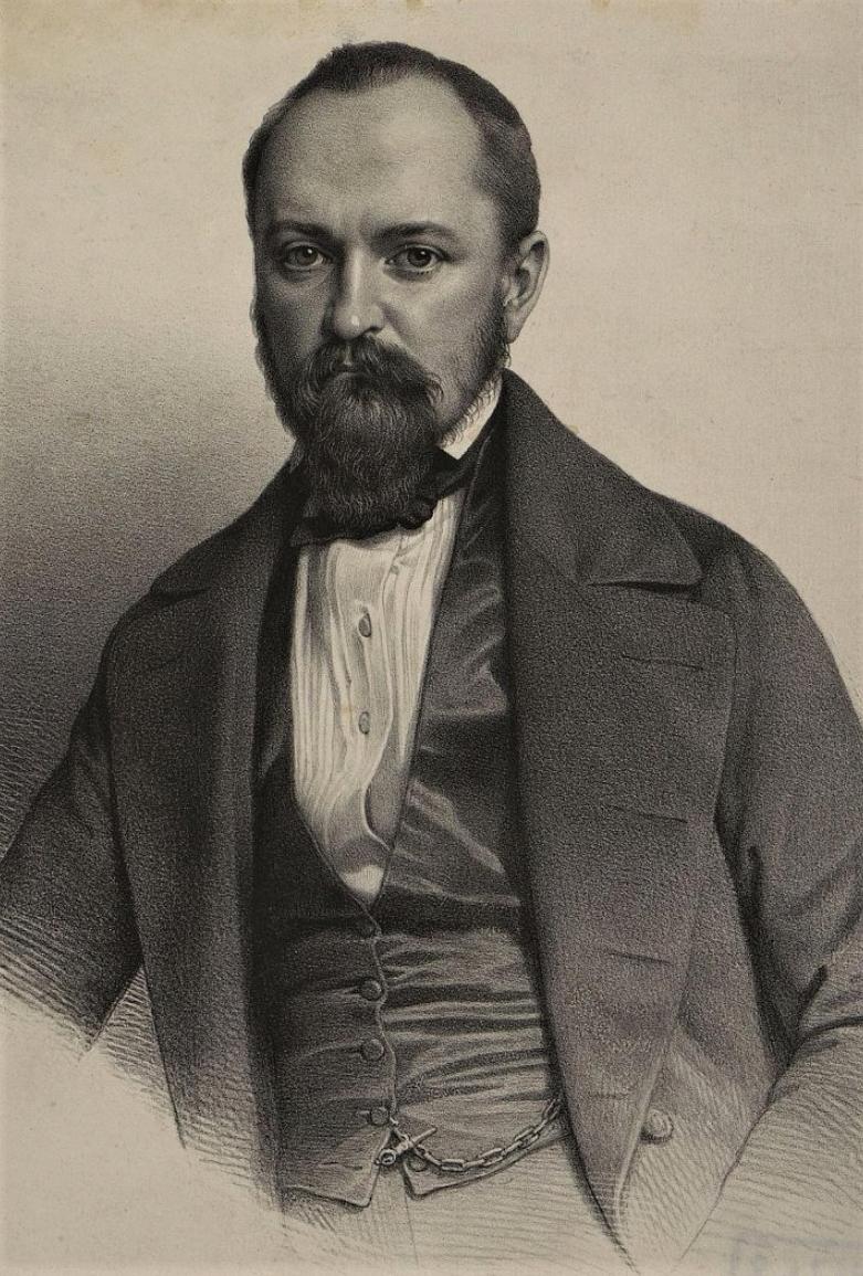 Герцен Александр Иванович. 1847 г.