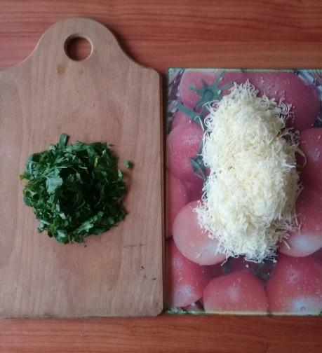 Зелень и сыр