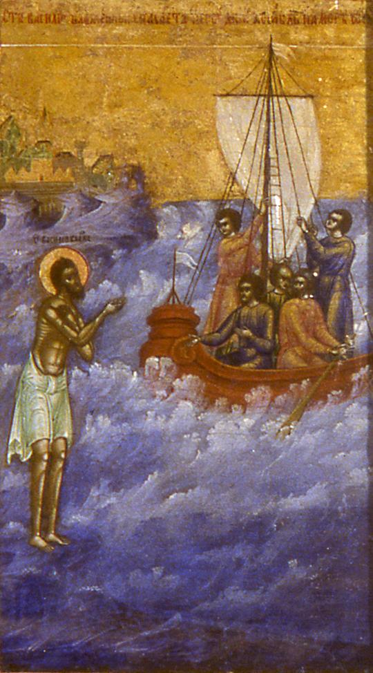 Клеймо иконы святого Василия Блаженного
