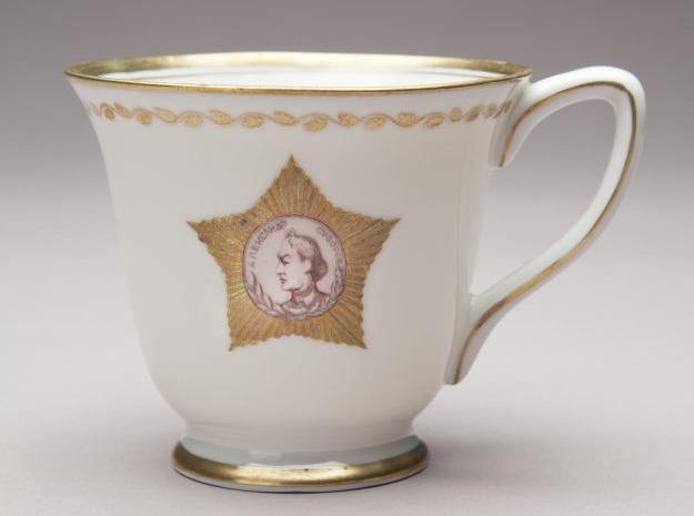 Чашка с изображением Ордена Александра Суворова