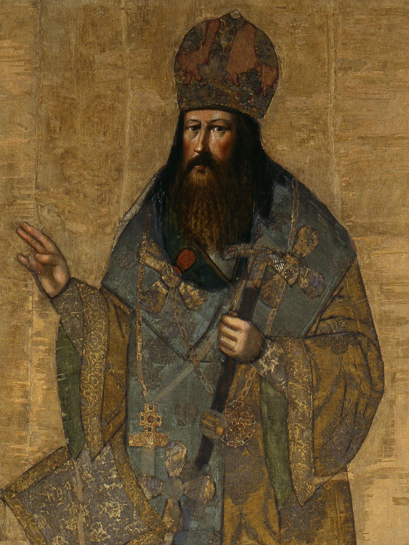 Парсуна Патриарх Никон. Волтырь Иван. Оружейная палата, ок. 1682 г.