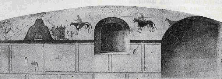 Оригинальная роспись склепа Анфестерия