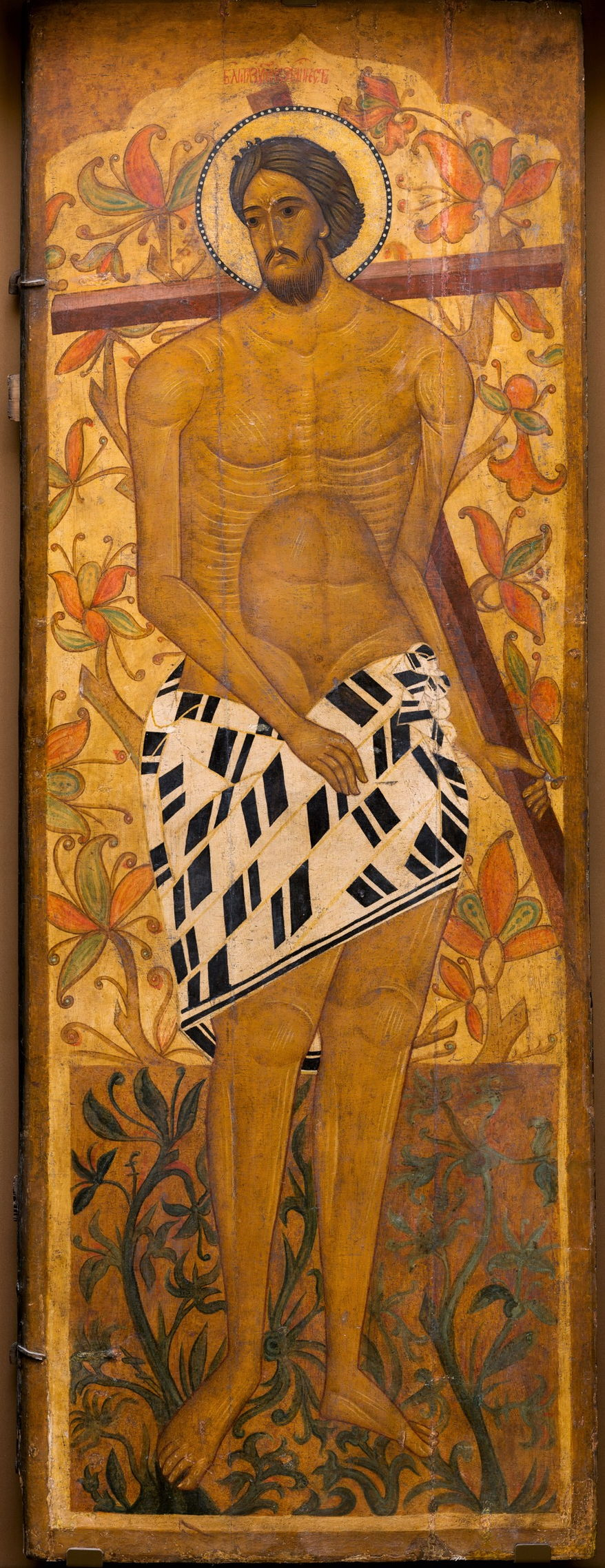 Благоразумный разбойник Рах. Церковь Варлаама Хутынского