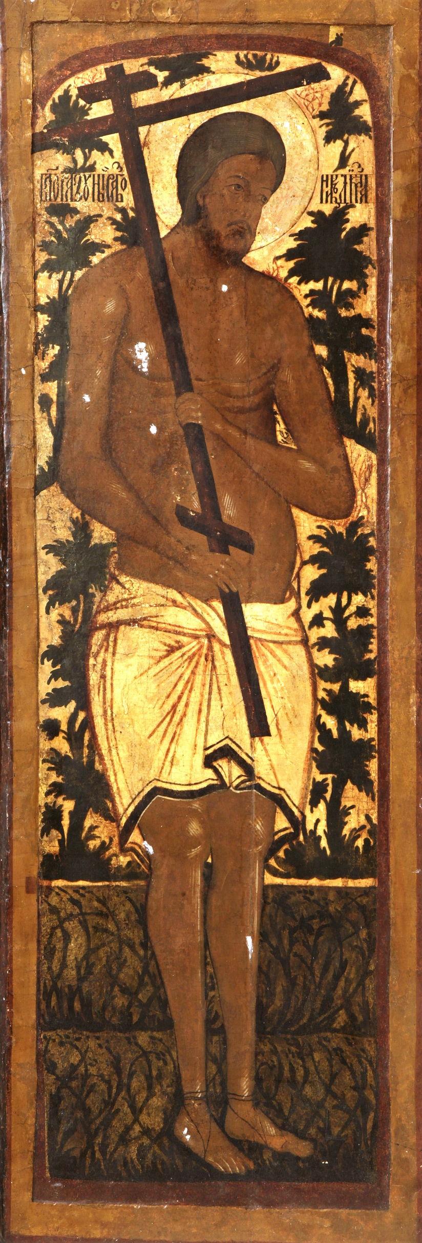 Благоразумный разбойник Рах. Северная дверь иконостаса в церкви Григория Армянского