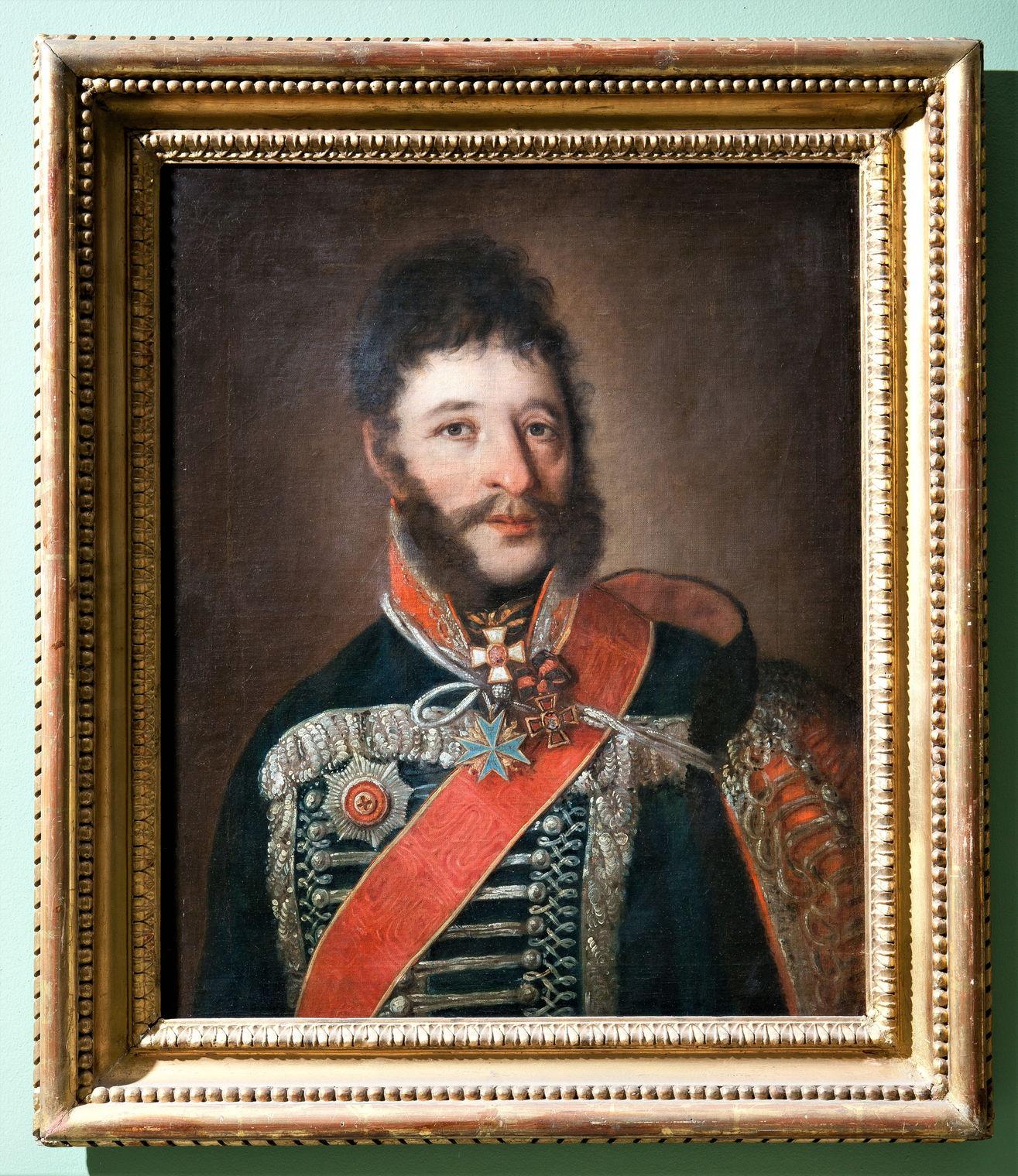 Неизвестный художник Портрет Я.П. Кульнева. Начало 1810-х Холст, масло. 65,5х51,1