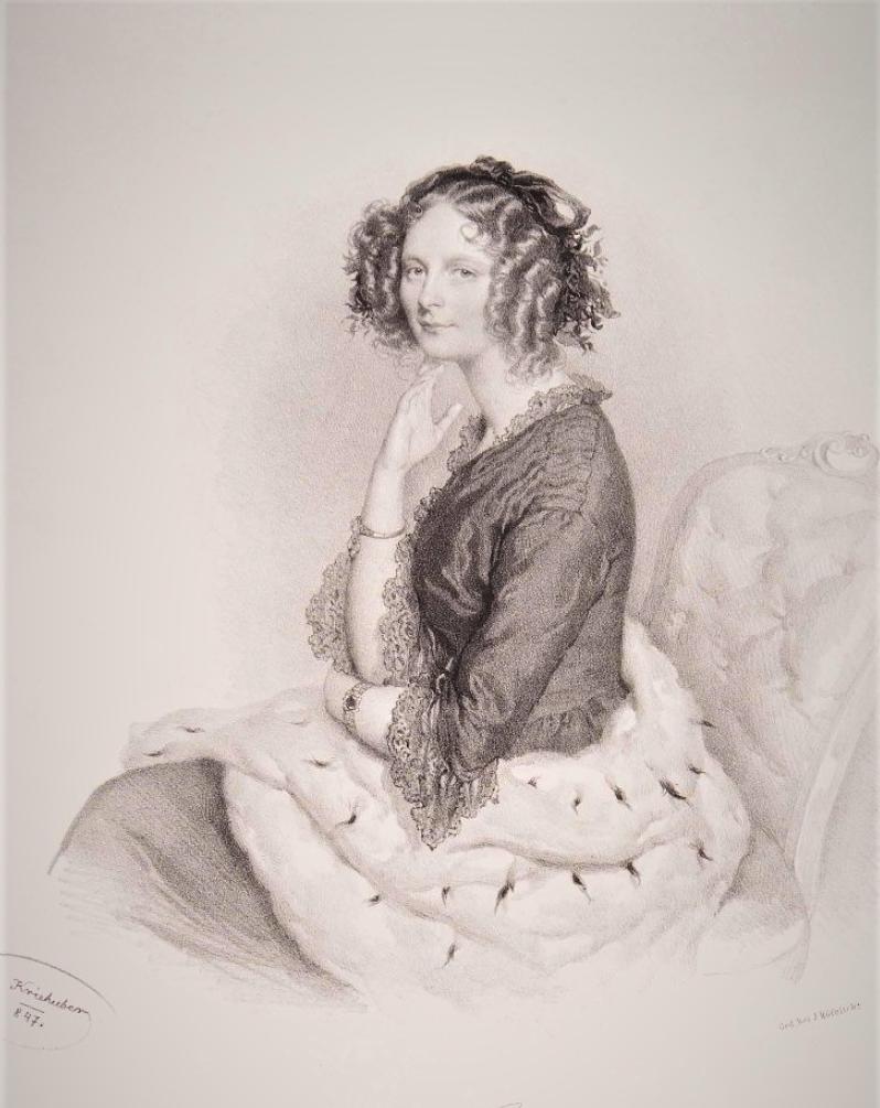 Великая княгиня Елена Павловна, около 1847 г.