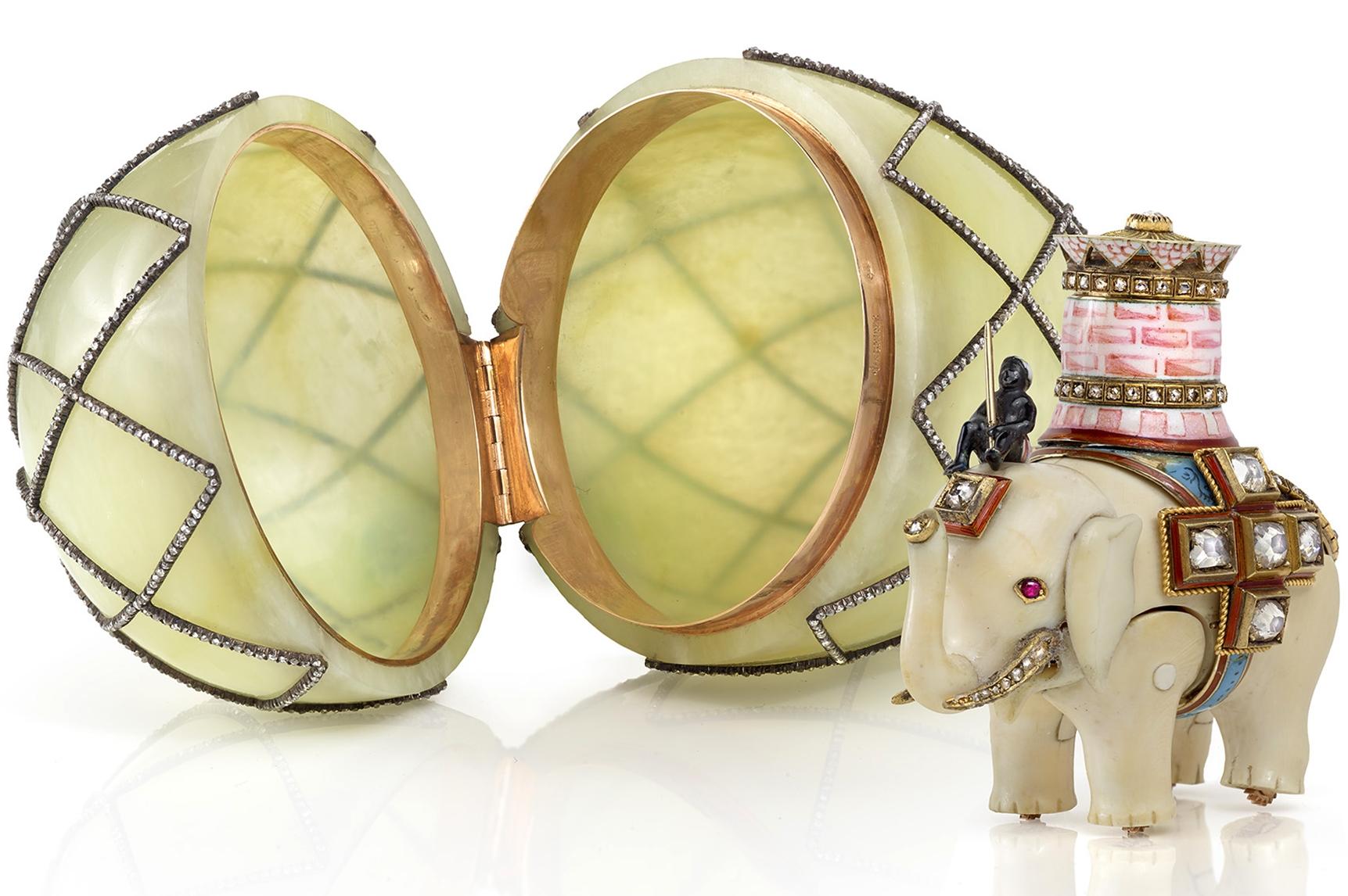 """Яйцо """"Алмазная сетка"""". Фирма К. Фаберже. 1892 г."""