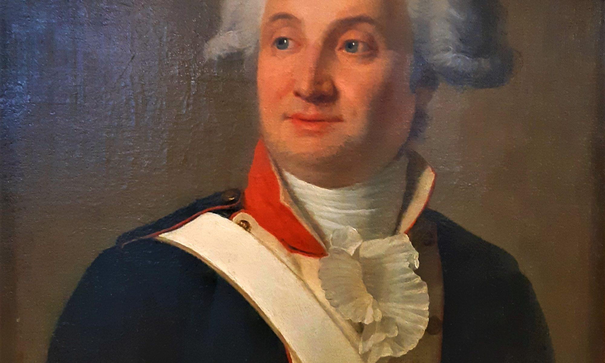 Жан Луи Ланевиль (1756–1826). Портрет Мари Жана Антуана Николя де Карита, маркиза де Кондорсе. 1789–1793 гг. Холст, масло.