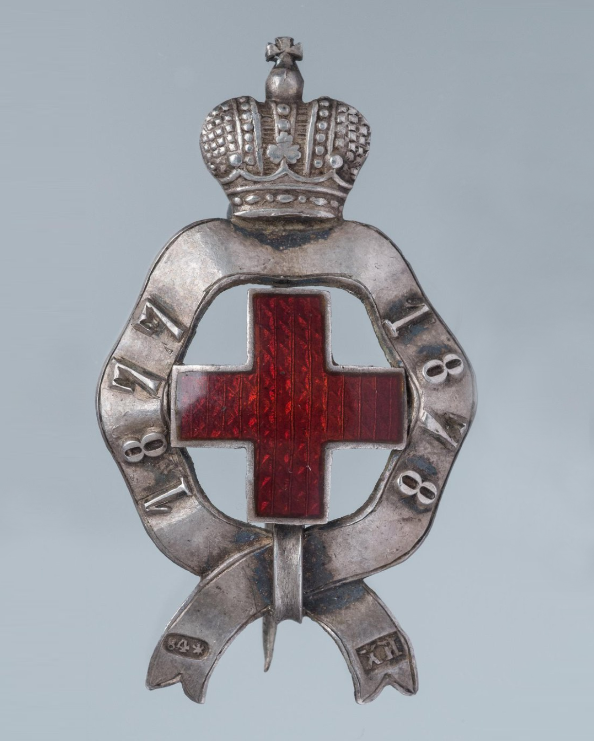 Знак Российского Красного Креста за русско-турецкую войну 1877-1878 гг.