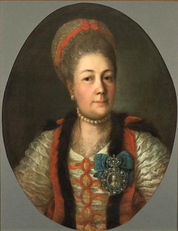 Портрет графини А.А. Матюшкиной. (1722 - 1804). 1774 г.
