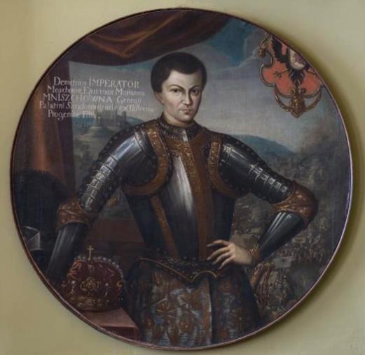 Портрет Лжедмитрия I. Неизвестный художник. Первая половина XVII в.