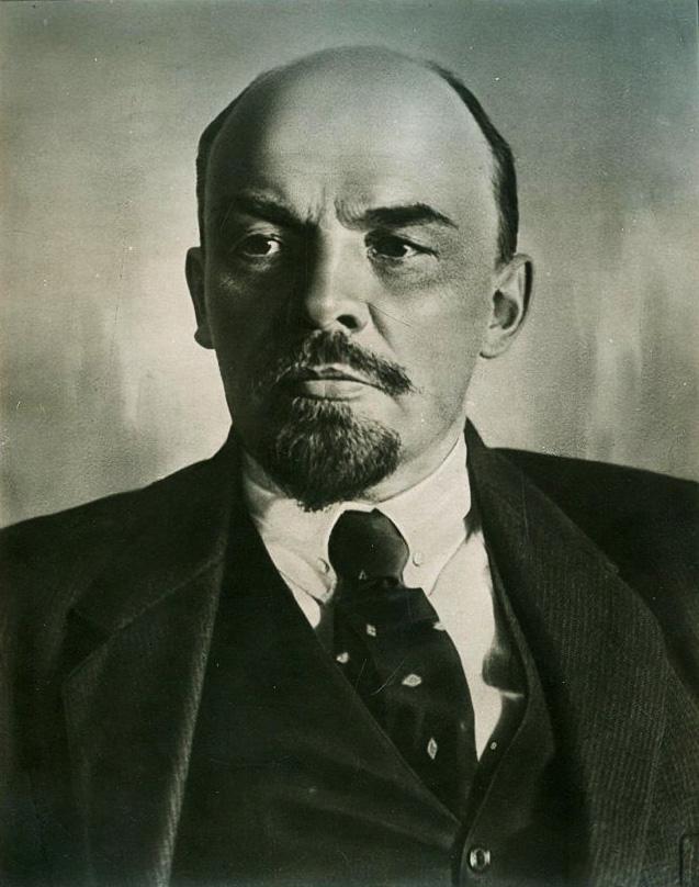 Фотография. В.И. Ленин. Портрет. Оцуп Петр Адольфович. 16.10.1918 г.