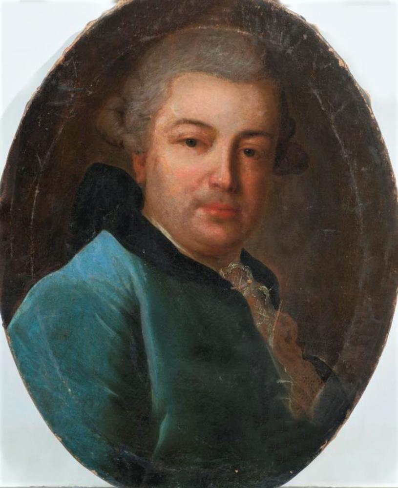 Портрет графа Д.М. Матюшкина. (1725 - 1800). 1760-е гг.