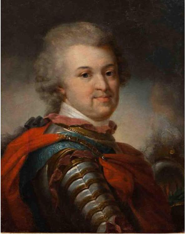 Князь Г.А.Потемкин. Неизвестный художник, 1790-е гг.