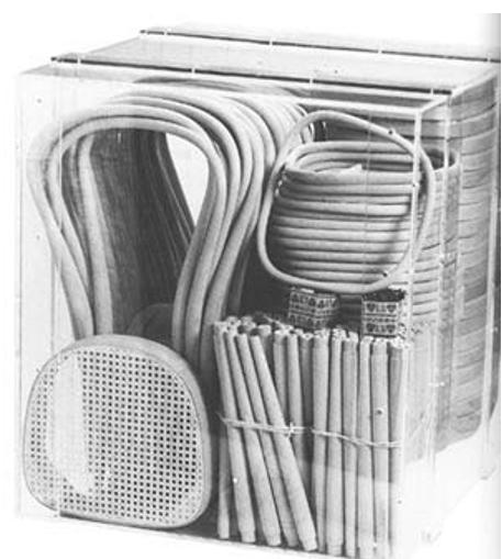 Упаковка стула N14, Фирма Тонет.