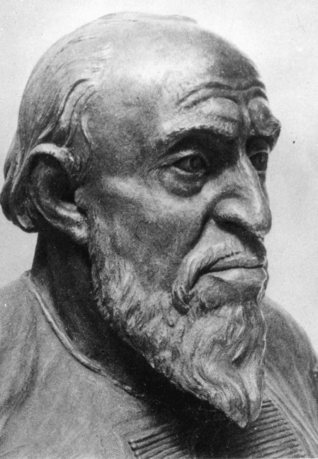 . М.М. Герасимов. Скульптурный портрет царя Ивана Грозного. Реконструкция по черепу. 1964 г.