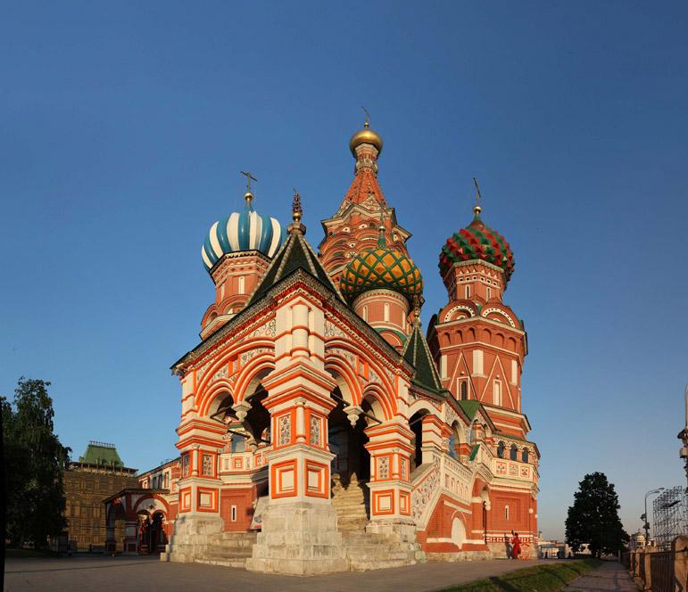 Крыльцо Покровского собора со стороны Красной площади