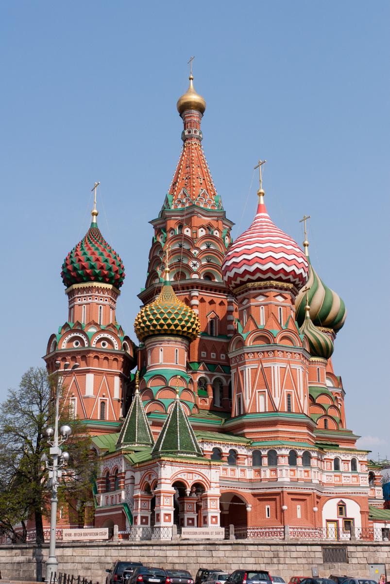 Вид Покровского собора с южной стороны