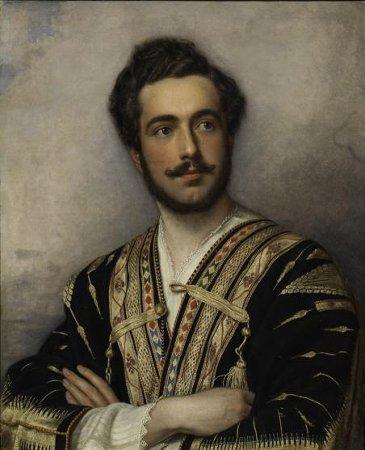Портрет князя Григория Григорьевича Гагарина (1810–1893). Штиллер Йозеф Карл (Joseph Karl Stieler), 1837-1839 гг.