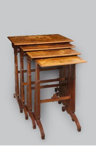 Эмиль Галле. Кофейный столик, 1903-1905 гг.
