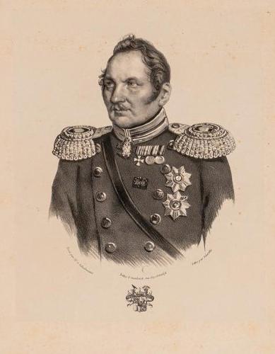 Портрет адмирала Фаддея Фаддевича Беллинсгаузена (1778-1852). Шертле В. (Schertle Valentin), 1840-е гг.