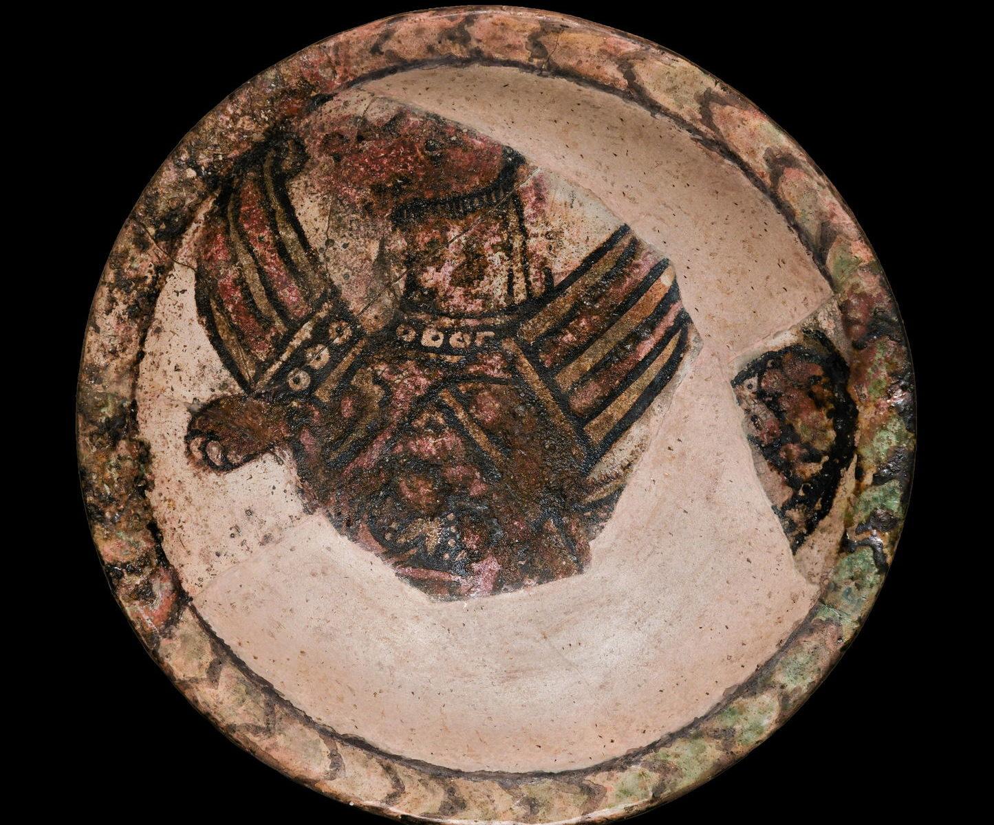 Блюдо с изображением сэнмурва