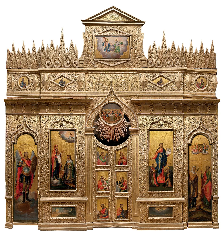 Иконостас церкви святых Киприана и Иустины