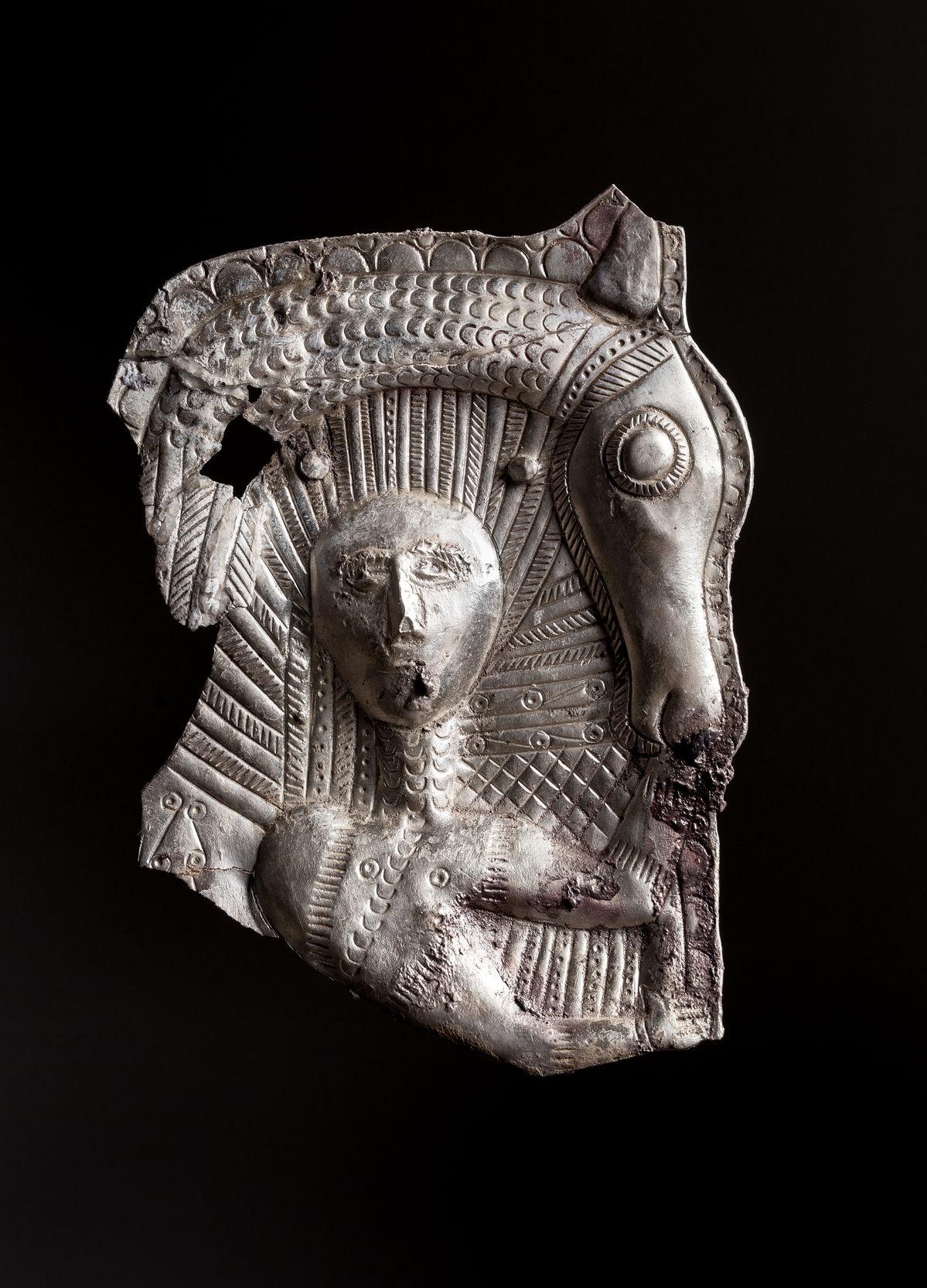 Нащечника фрагмент. IV в. до н.э.
