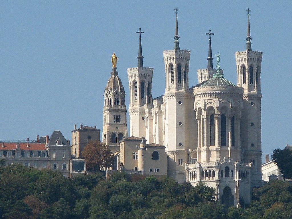 Базилика Нотр-Дам-де-Фурвьер, Лион источник: