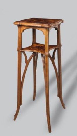 Луи Мажорель. Тумба-геридон, начало XX века