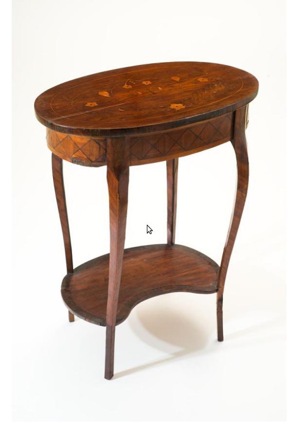 Столик рабочий. Последняя четверть XVIII века