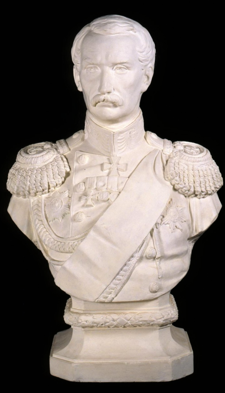 Неизвестный автор. Портрет вице-адмирала Корнилова Владимира Алексеевича (1806-1854). 1860-е гг.