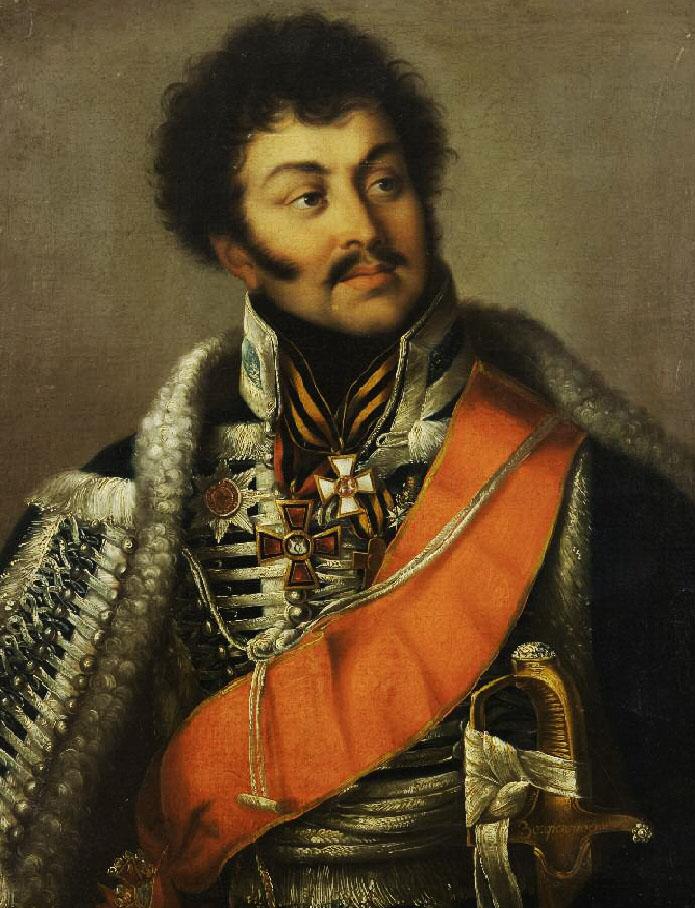 1. Портрет Д.Д. Шепелева (ранее портрет В.Г. Мадатова). ГИМ