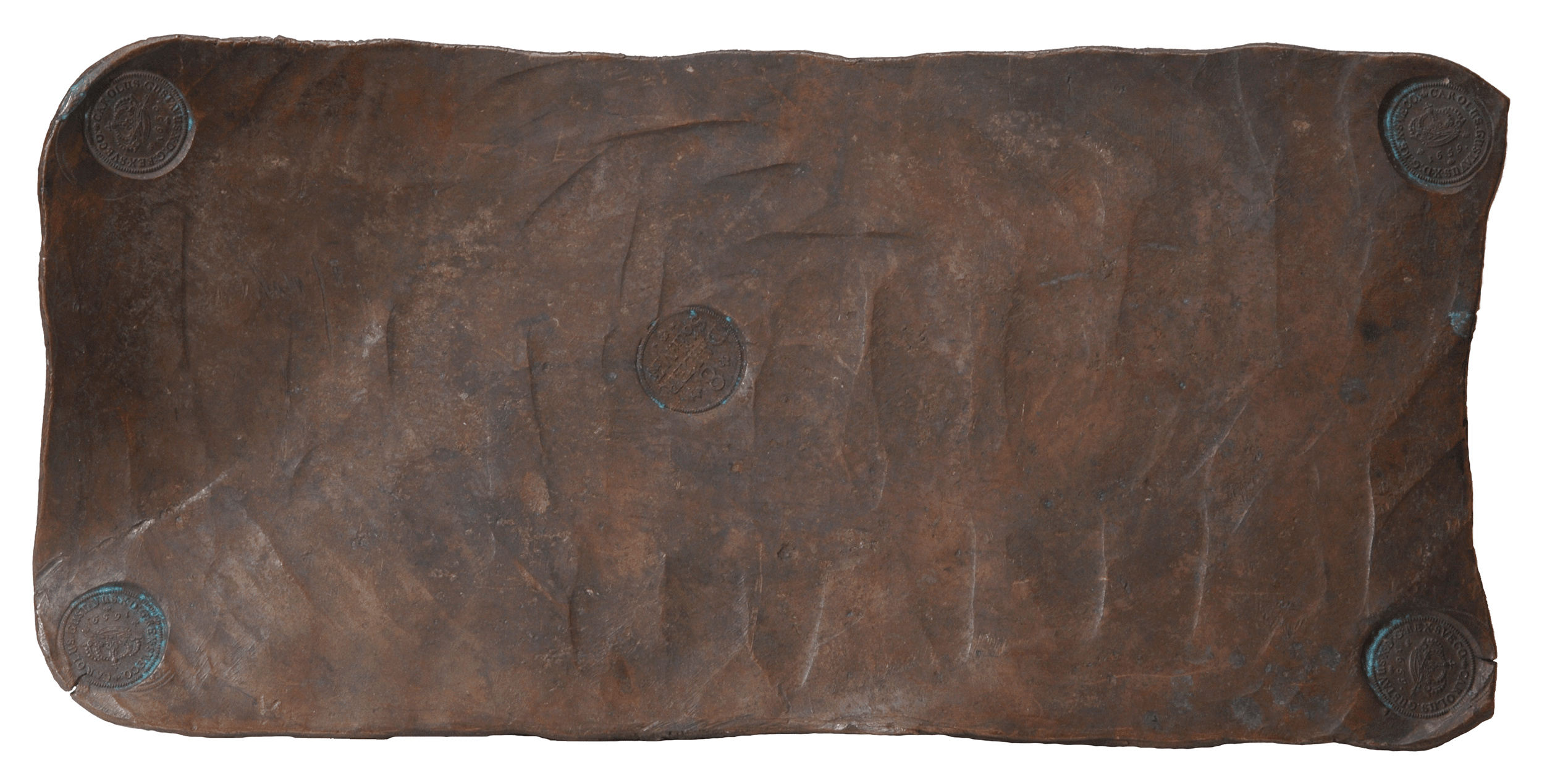 8 далеров серебром 1659 г.
