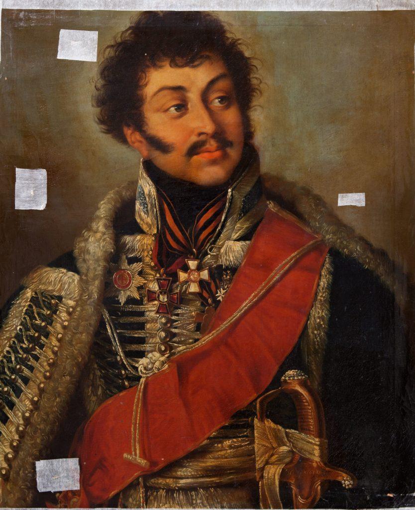1.Портрет Д.Д. Шепелева (ранее портрет В.Г. Мадатова). ГИМ