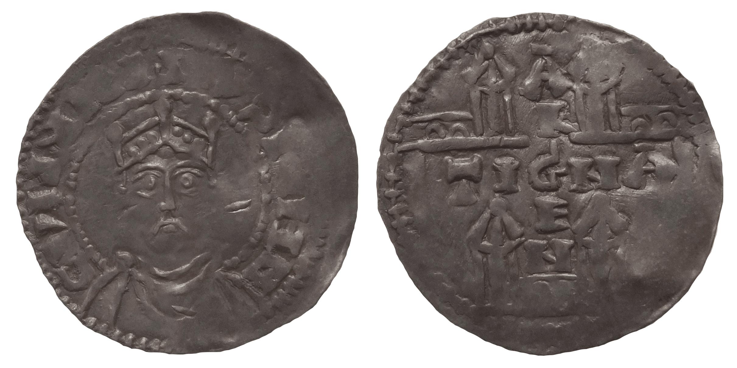 Германия, Страсбург. Конрад II (1024–1039, император с 1027). Денарий