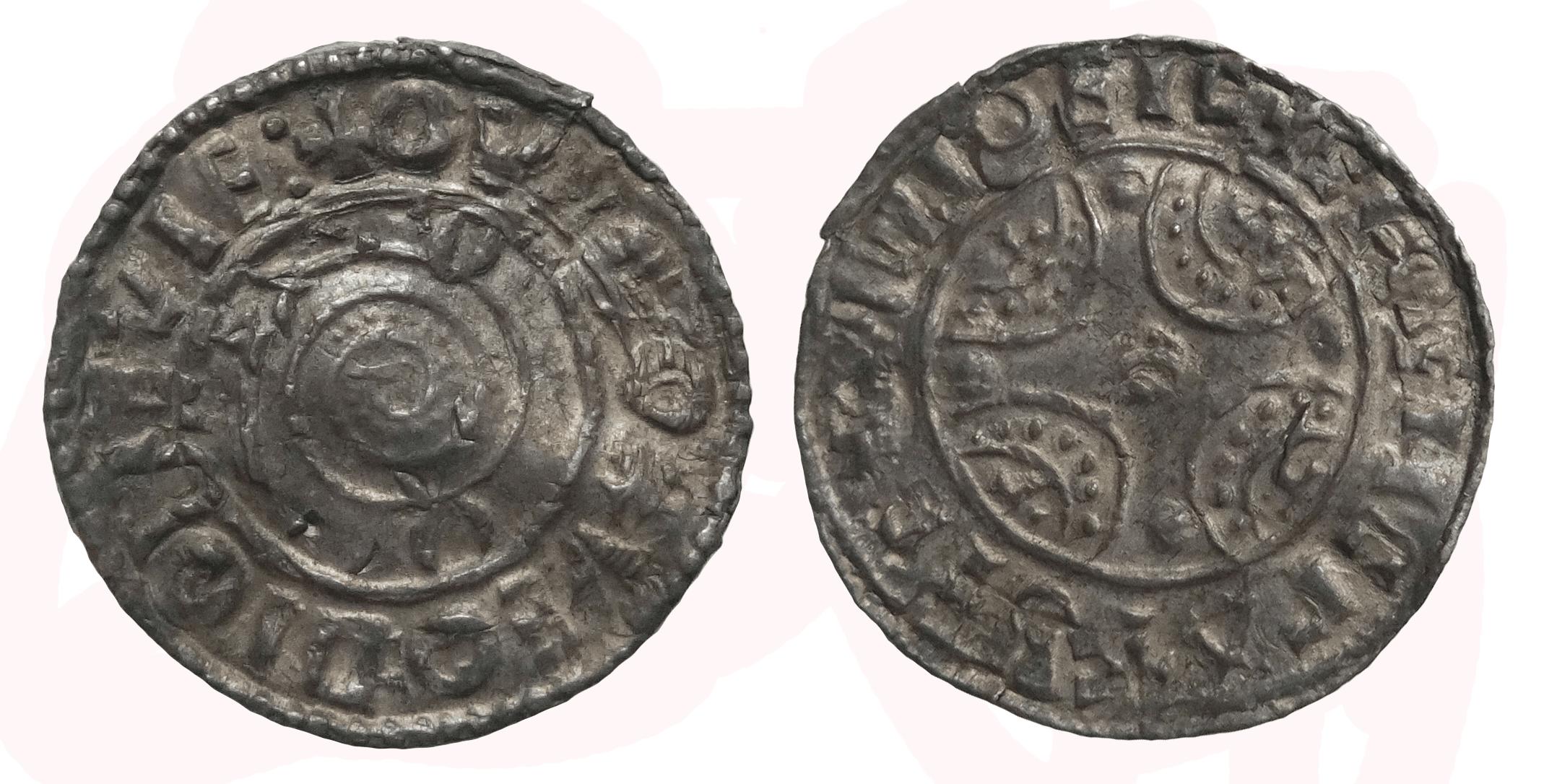Дания. Кнут I Великий (1016–1035). Денарий