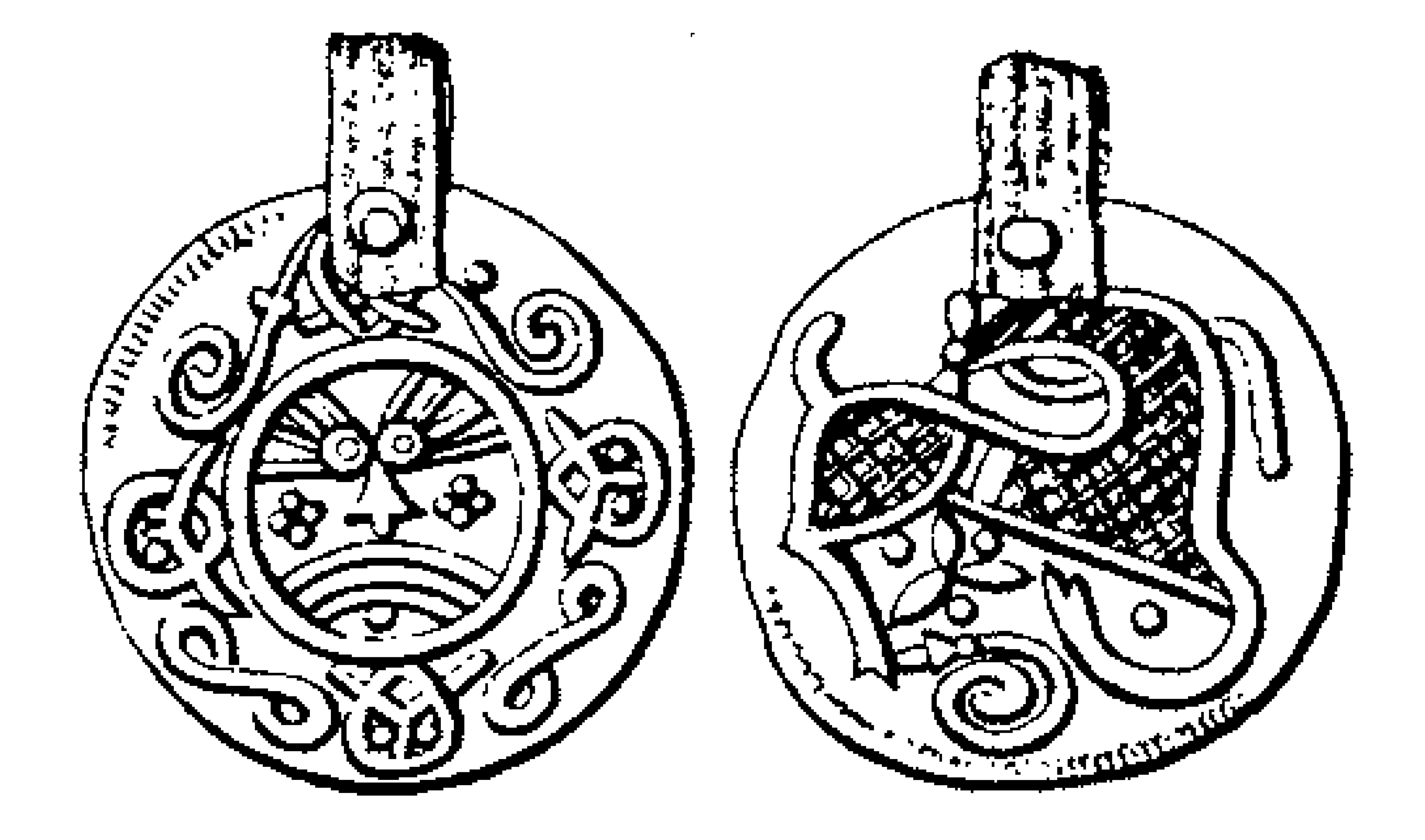 Дания. Денарий (?). около 870–900 гг.